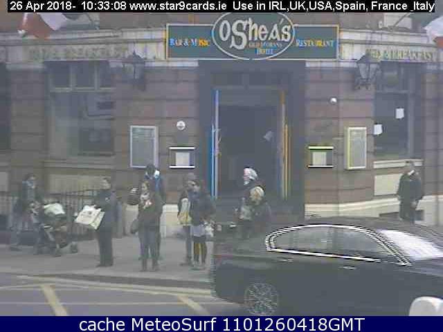 webcam Lower Gardiner Street Dublin