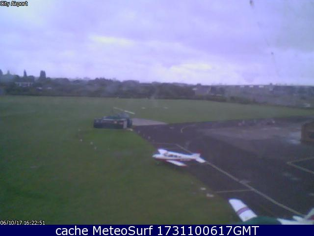 webcam Manchester Airport North West