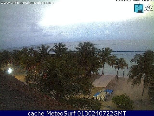 webcam Mahahual Othón P. Blanco