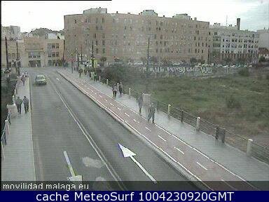 webcam Malaga Casa Picasso Malaga