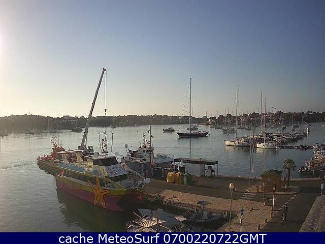 webcam Portocolom Islas Baleares