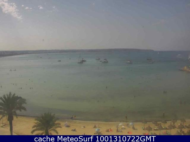 webcam Can Pastilla Mallorca  Islas Baleares