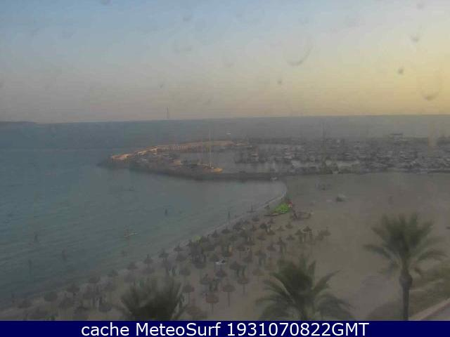 webcam Can Pastilla Mallorca Puerto Islas Baleares