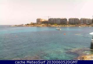 webcam Manoel Island Northern Harbour