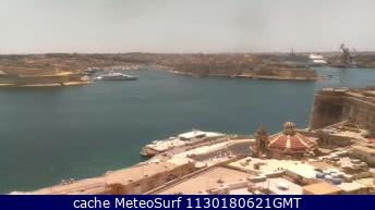 webcam Sliema Bay Northern Harbour