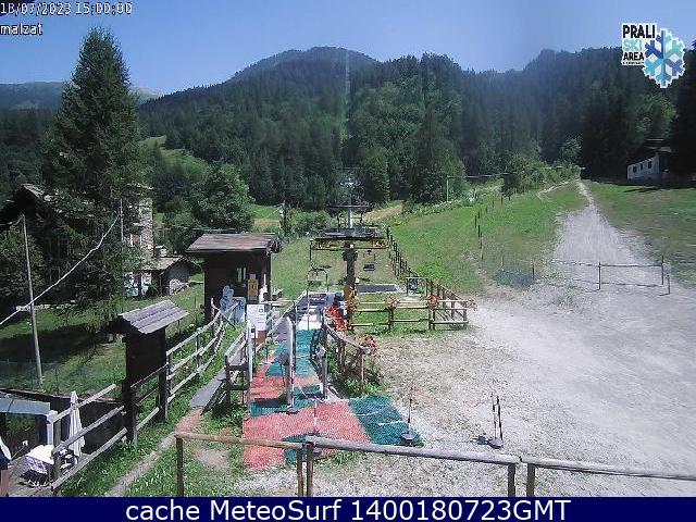 webcam Malzat Prali Ski Turín