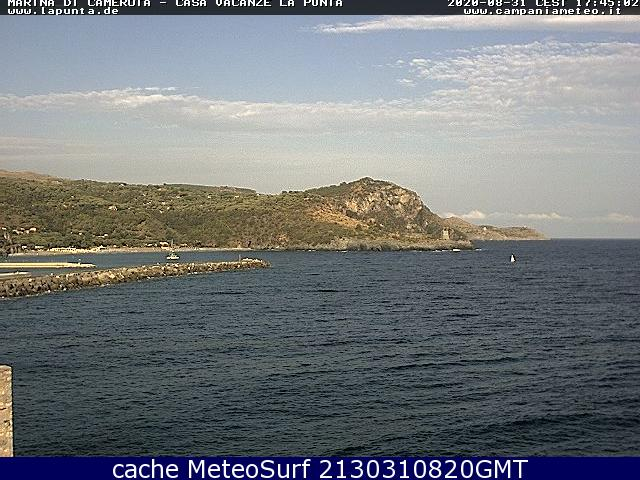 webcam Marina Di Camerota Salerno