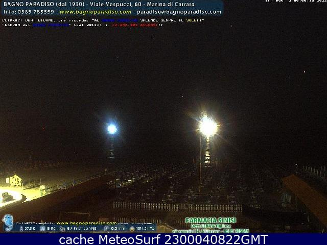 webcam Marina di Carrara Massa-Carrara