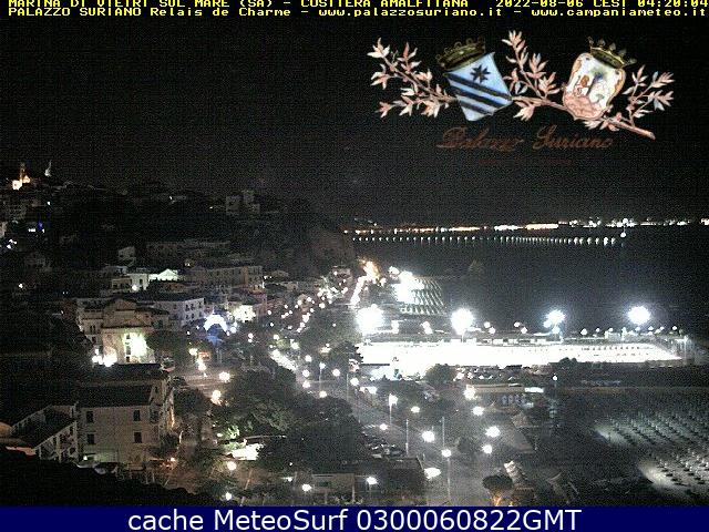 webcam Marina di Vietri Salerno