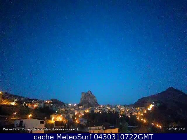 webcam Marineo Palermo