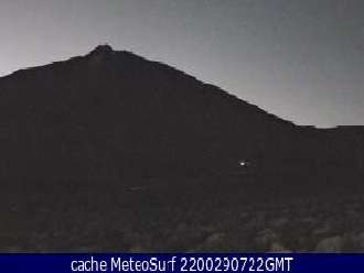 webcam teide: