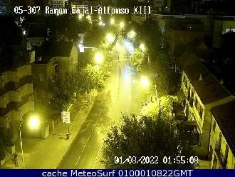 Webcam Alfonso XIII Ramon y Cajal