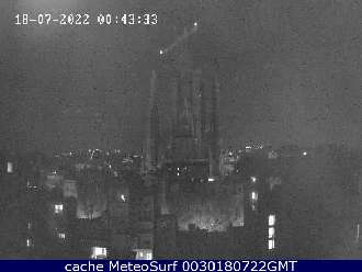 Webcam Barcelona Sagrada Familia