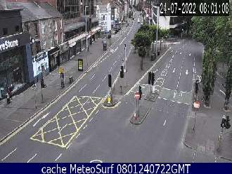 Webcam Belfast University