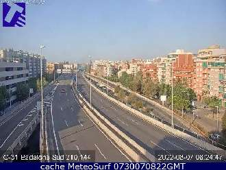 Webcam Badalona Sur