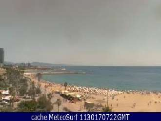 Webcam Barceloneta