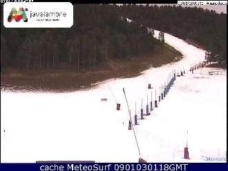 Webcam Javalambre Nieve