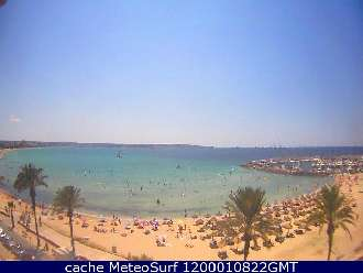 Webcam Can Pastilla Palma de Mallorca