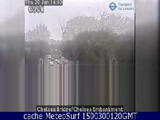 Webcam Chelsea Bridge