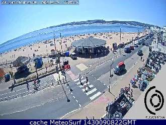 Webcam Exmouth Beach