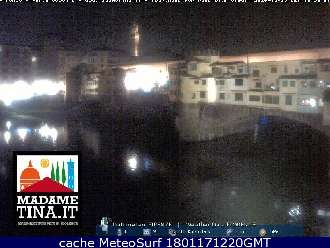 Webcam Firenze Ponte Vecchio