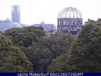 Webcam Hiroshima Memorial