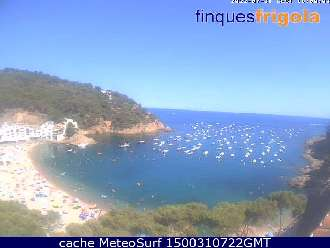 Webcam Tamariu Costa Brava