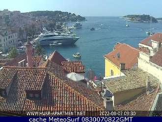 Webcam Hvar Port