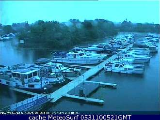 Webcam St Jean de Losne Port
