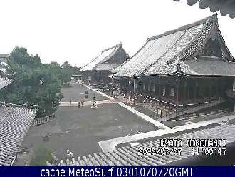 Webcam Kyoto Hongwan-ji