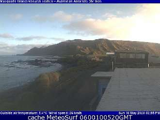 Webcam Macquarie Island