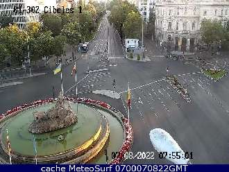 Webcam Plaza de Cibeles
