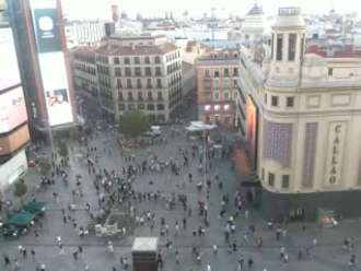 Webcam Plaza Callao live