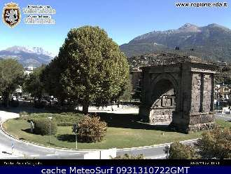 Webcam Aosta Arco Augusto