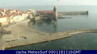 Webcam Collioure Plage