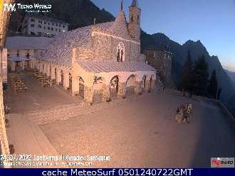Webcam Santuario Sant'Anna Vinadio