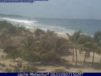 Webcam Puerto Escondido Surf