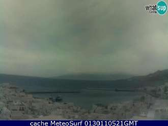 Webcam Mykonos Windsurf