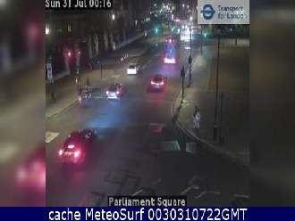 Webcam Whitehall Parliament Square