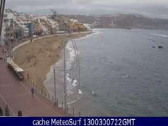 Webcam Las Canteras (video)