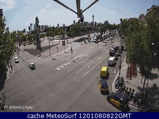 Webcam Plaza Antonio L�pez