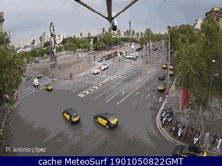 Webcam Plaza Antonio López