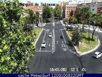 Webcam Plaza Marques de Salamanca