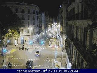 Webcam Plaza Urquinaona