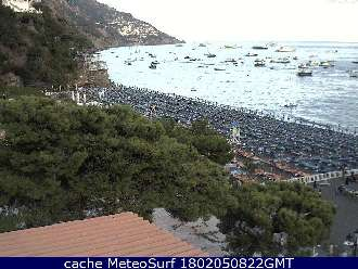 Webcam Positano Hotel