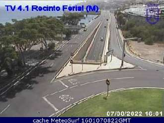 Webcam Recinto Ferial Santa Cruz