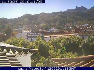 Webcam Vega de San Mateo