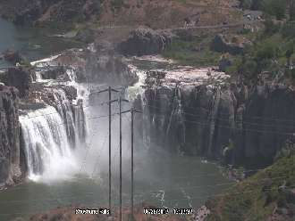 Webcam Shoshone Falls