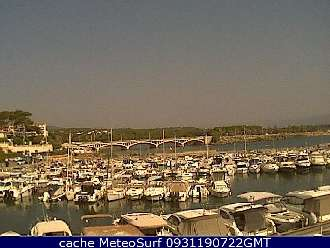 Webcam St Aygulf Port