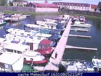 Webcam St Jean de Losne